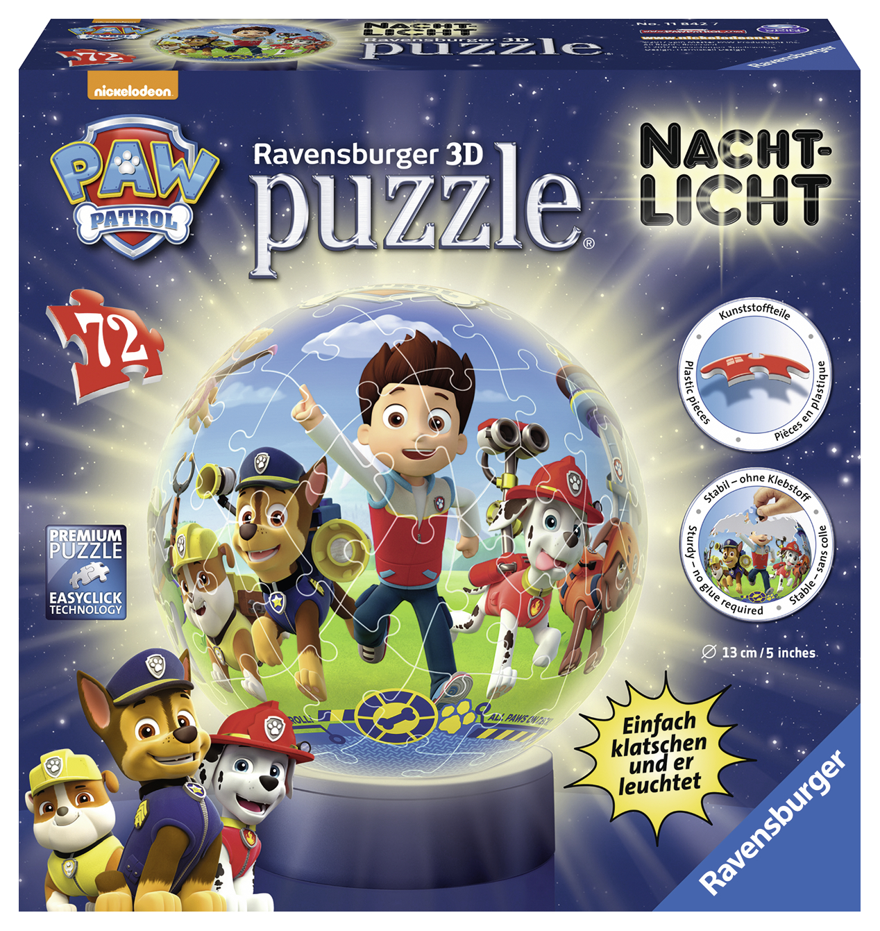 Puzzle 3d Paw 72 piese