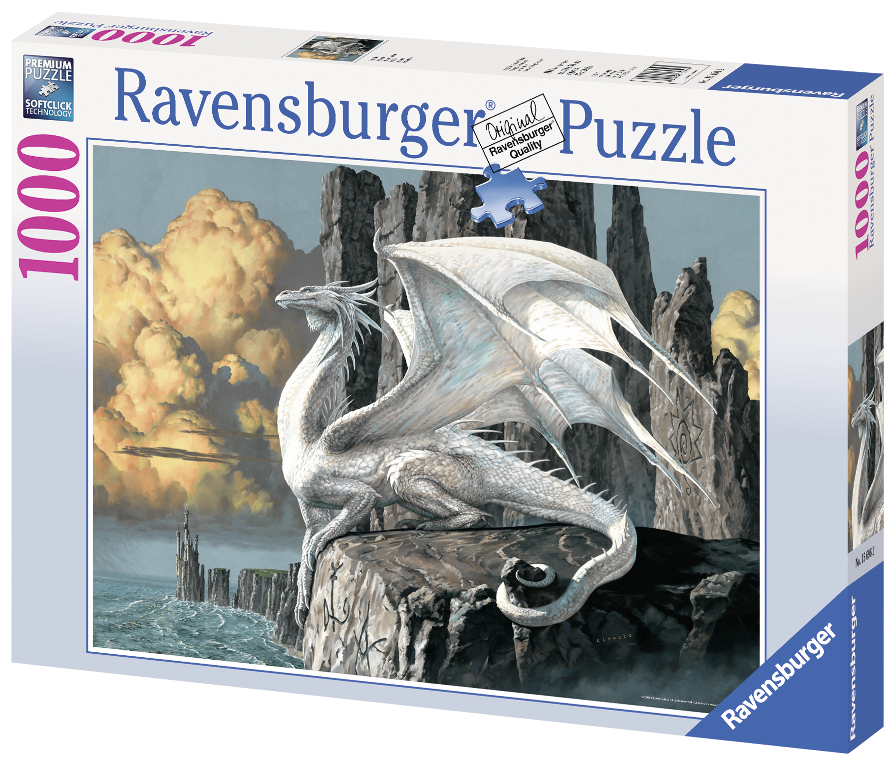 Puzzle Dragon 1000 piese