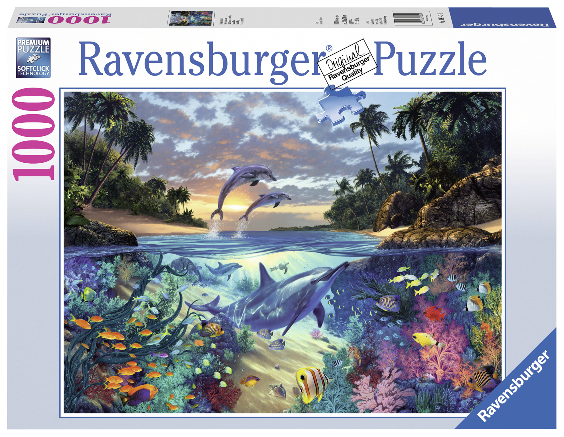 Puzzle Golful Coralilor 1000 piese