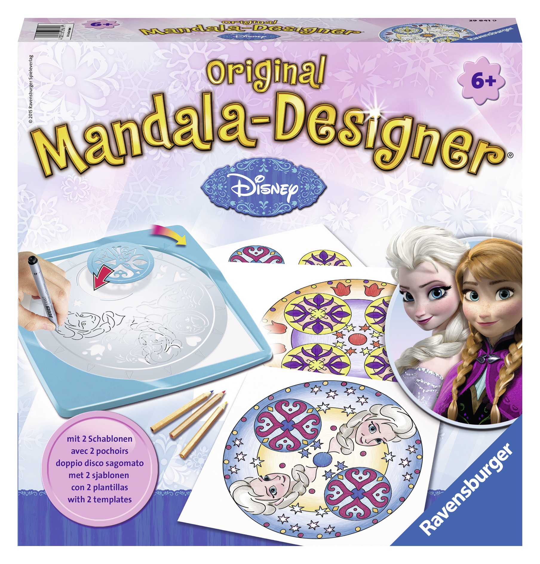 SET DE CREATIE MANDALA 2 IN 1 FROZEN