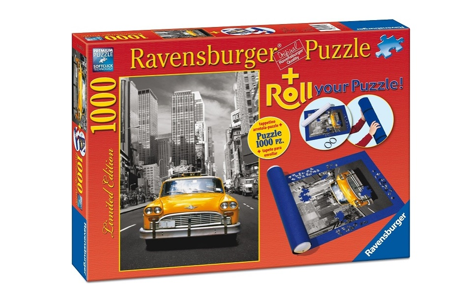 PUZZLE NEW YORK TAXI 1000 PIESE  SUPORT PT RULAT