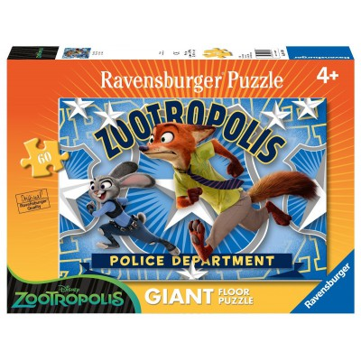 Puzzle Zootopia JudyNick 60 Piese