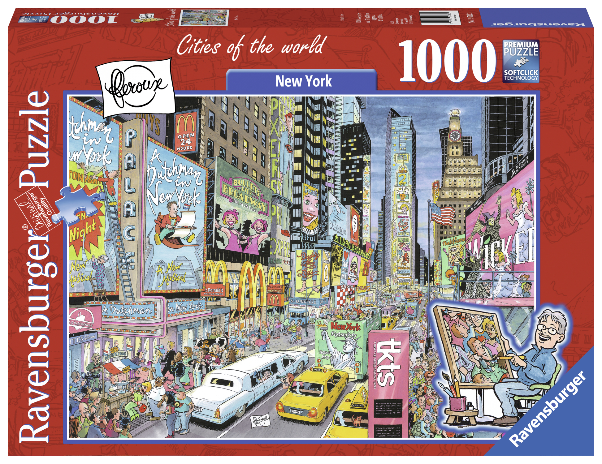 PUZZLE NEW YORK 1000 PIESE