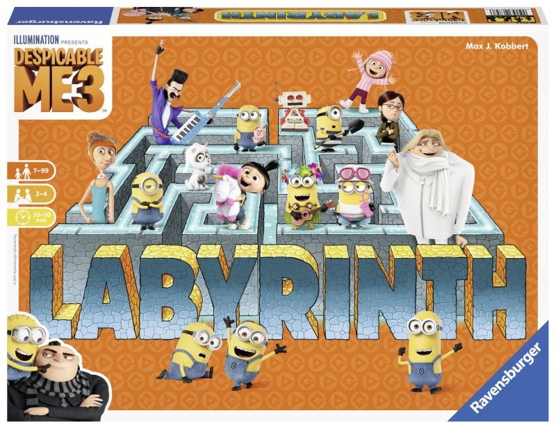 JOC LABIRINT - DESPICABLE ME 3 ro