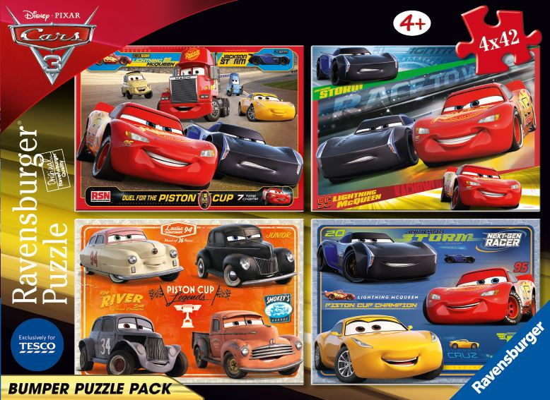 PUZZLE CARS 4x42 PIESE